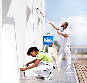 Fassadenfarben dienen als Schutz der äußeren Gebäudehülle und prägen ganz entscheidend deren Aussehe...