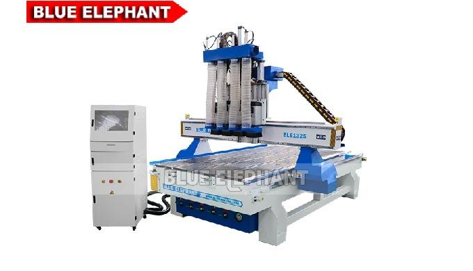 Roteador CNC madeira ELECNC-1325 com 4 eixos