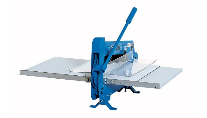 Sample cutting and pinking machine type ZO-50