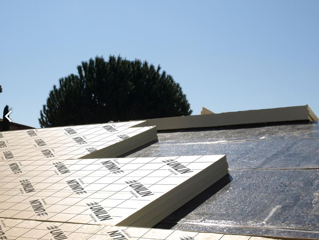 Panneau rigide toitures 2400 x 1200 x 100 mm