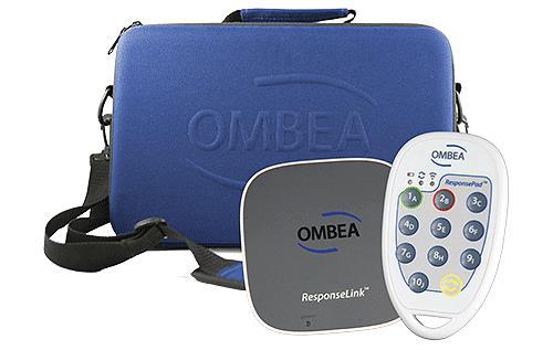 Boîtiers de vote électronique OMBEA ResponsePad