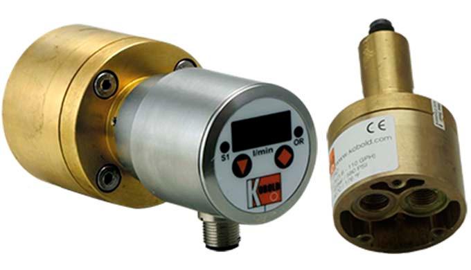 Messbereich: 6 - 420 l/h Flüssigkeit Viskositätsbereich: 5 - 100 mm²/s Anschluss: G ⅛ , G ¼, ⅛