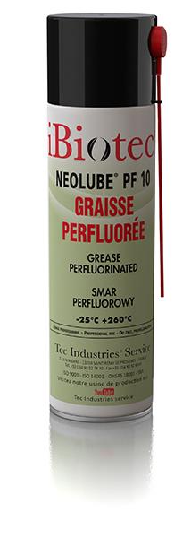 NEOLUBE PF 10 ET PL 10.00 GRAISSE PERFLUOREE POUR LUBRIFICATION CONDITIONS EXTREMES
