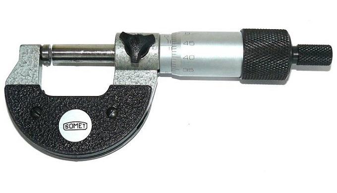 Třmenové mikrometry analogové rozsah 0-25; 25-50; 50-75; 75-100