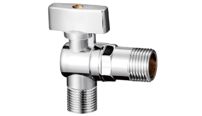 Precision control water copper alloy angle valve Defending the issue of safe water using Powerful sp...