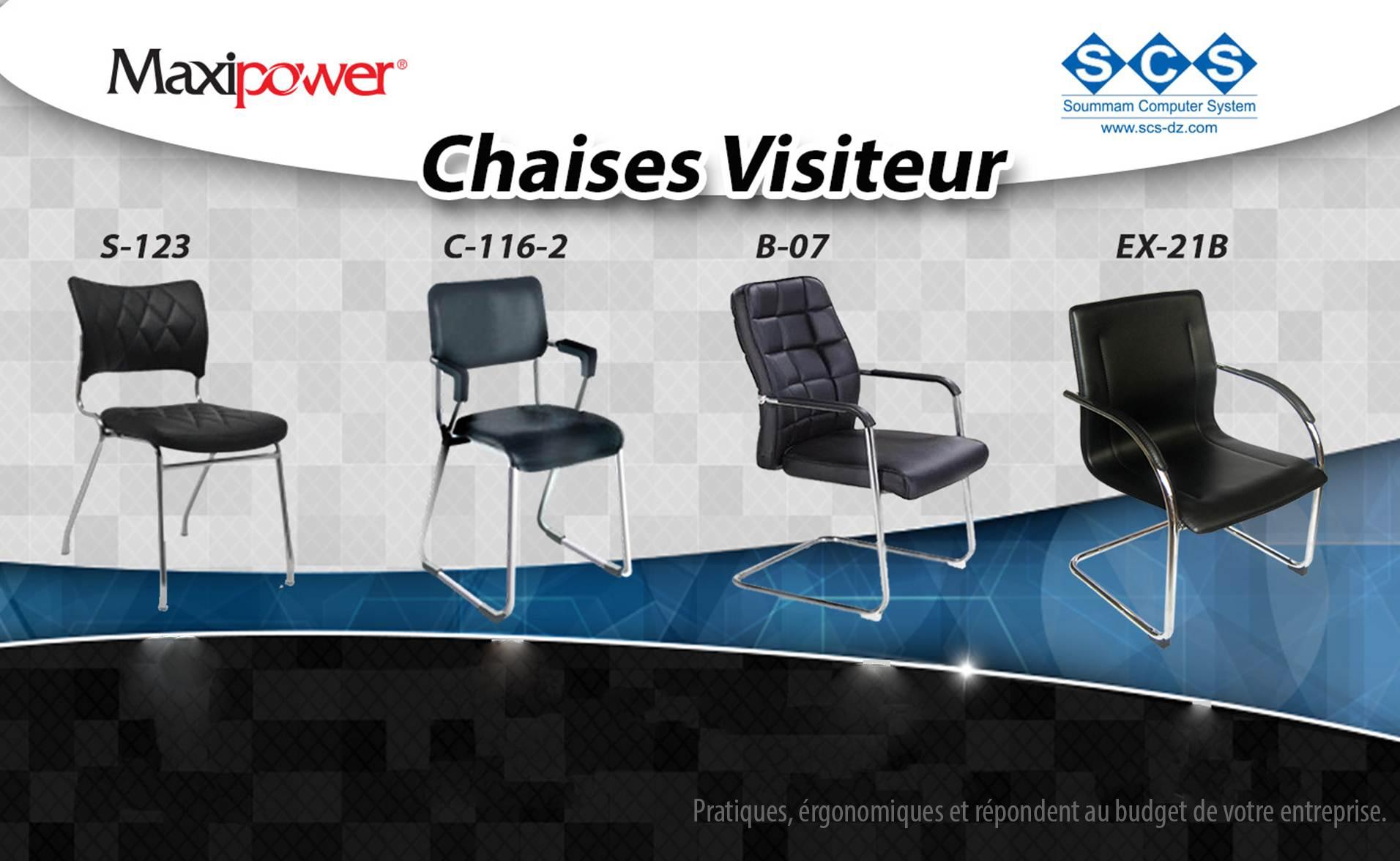 chaise visiteur