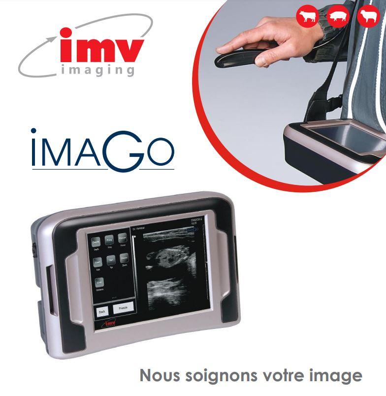 IMV imaging vous présente l'échographie tout terrain : ImaGo L. C'est un appareil compact, portable,...