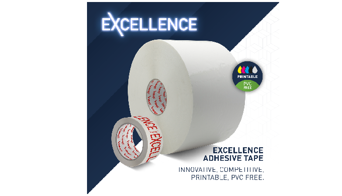 Excellence's patented backing allows direct printing without corona treatment and without having to ...