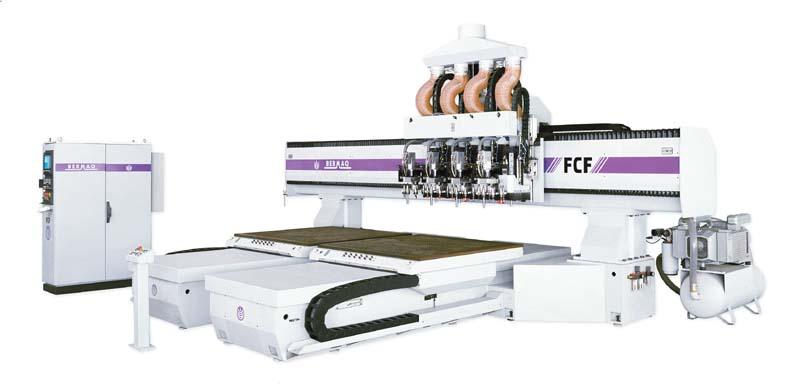 Máquina de control numérico (CNC) preparada para altas producciones. Su versatilidad permite adaptar...