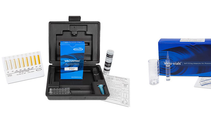 CHEMetrics offers test kits employing the well-known Nessler reagent to deliver sensitivity and accu...
