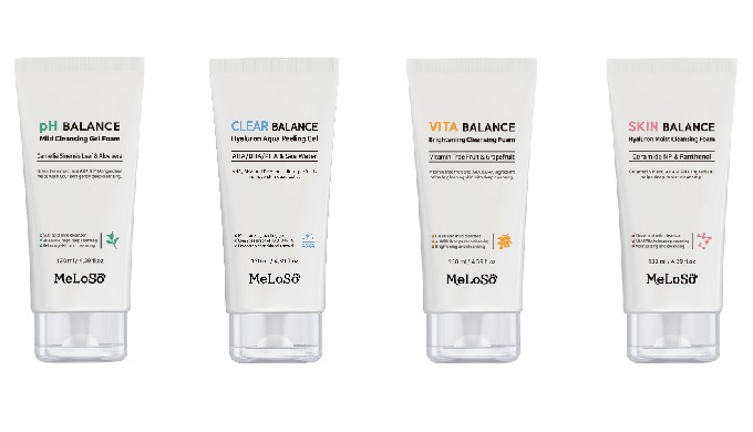 Meloso foam cleansing(4types)