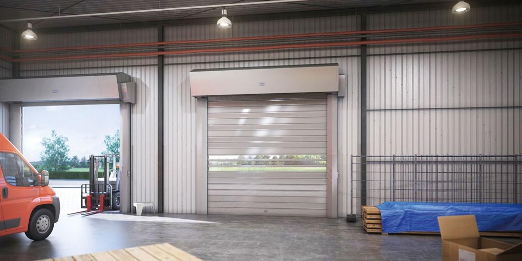 ASSA ABLOY Außentore mit starren Behängen sind schnell, sicher, robust und funktionell. Die ASSA ABL...