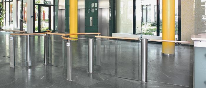 In repräsentativen Eingangsbereichen, VIP-Räumen oder beim Zugang zur Vorstandsetage steuern diese s...