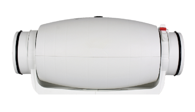 Extremely Quiet Air Filtration System Balanced Ventilation, Balanced Air Solution, Long Lasting QUIE...