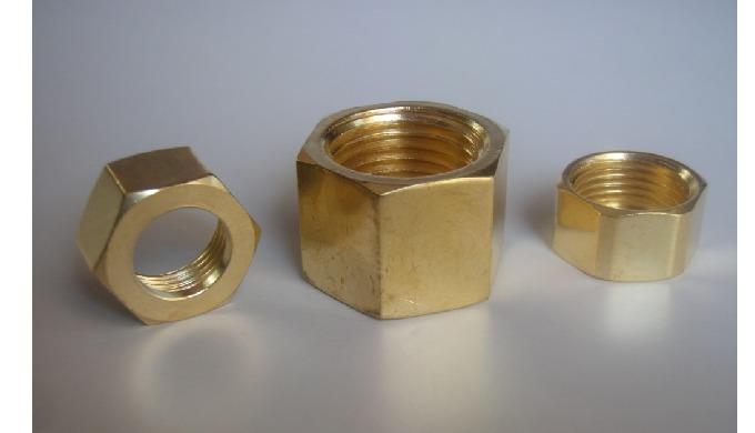 Brass BSP Hex Nut