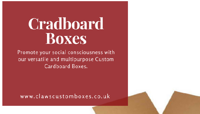 Claws Custom Boxes Made Top-Quality Custom Boxes (CDB) Packaging is the UK- based manufacturers, pro...