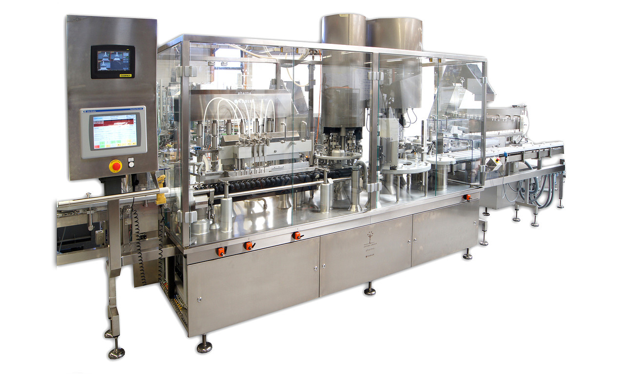 Fully-automatic Filling and Closing Machine KUGLER CONTILINE