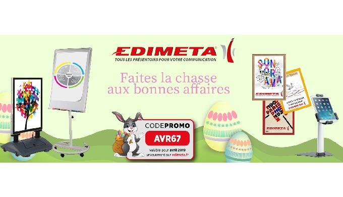 En Avril, EDIMETA propose sa grande chasse aux bonnes affaires !