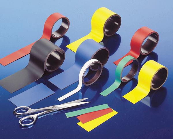 Bande magnétique naturelle et de couleurs