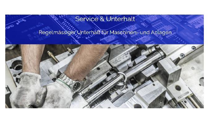 Regelmässiger Unterhalt für Maschinen- und Anlagen