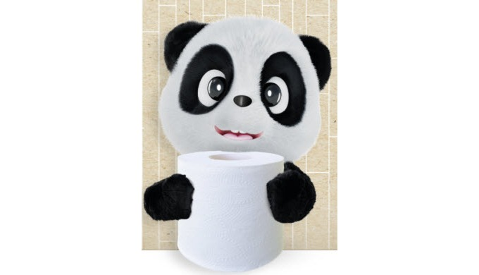 Our luxury bamboo toilet paper is made from 100% bamboo from FSC certified sustainable bamboo forest...