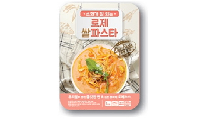 Rose Rice Pasta