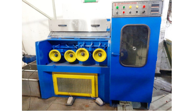 Fine Wire Drawing machine SWG 22 To 40 MM - 0.711 To 0.1219