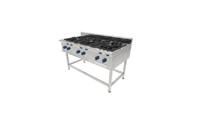 4. Commercial Gas Range |  Triple Gas Range