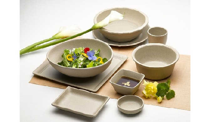 Melamine table ware (matt finished) STONE