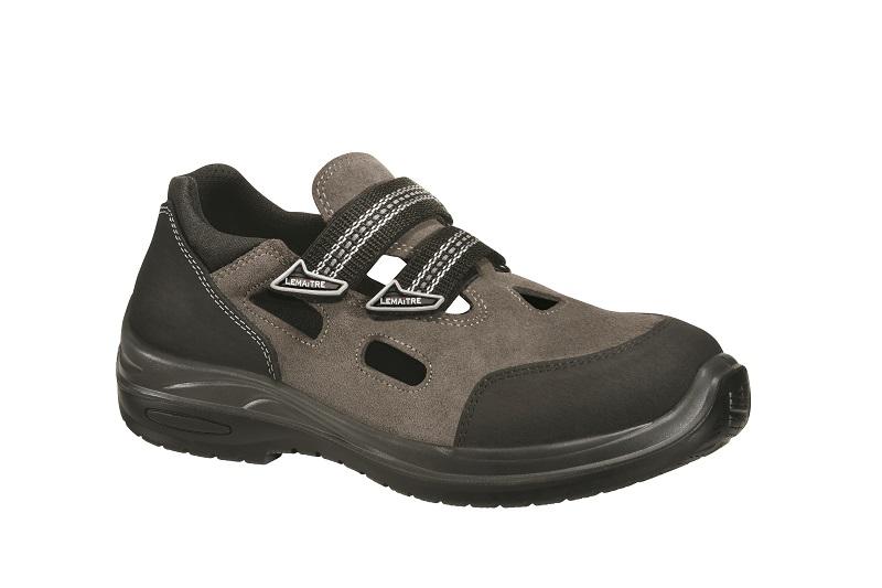 Sandál ze semičové usně s ochrannou vrstvou proti abrazi SPITFIRE S1P Svršek: semišová useň s vrstvo...