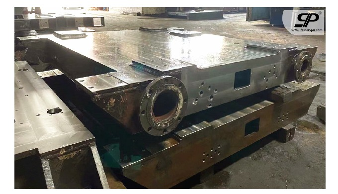 OEM steel base for heavy-duty machine 1. steel plate: thickness is not limited -- no matter how thic...