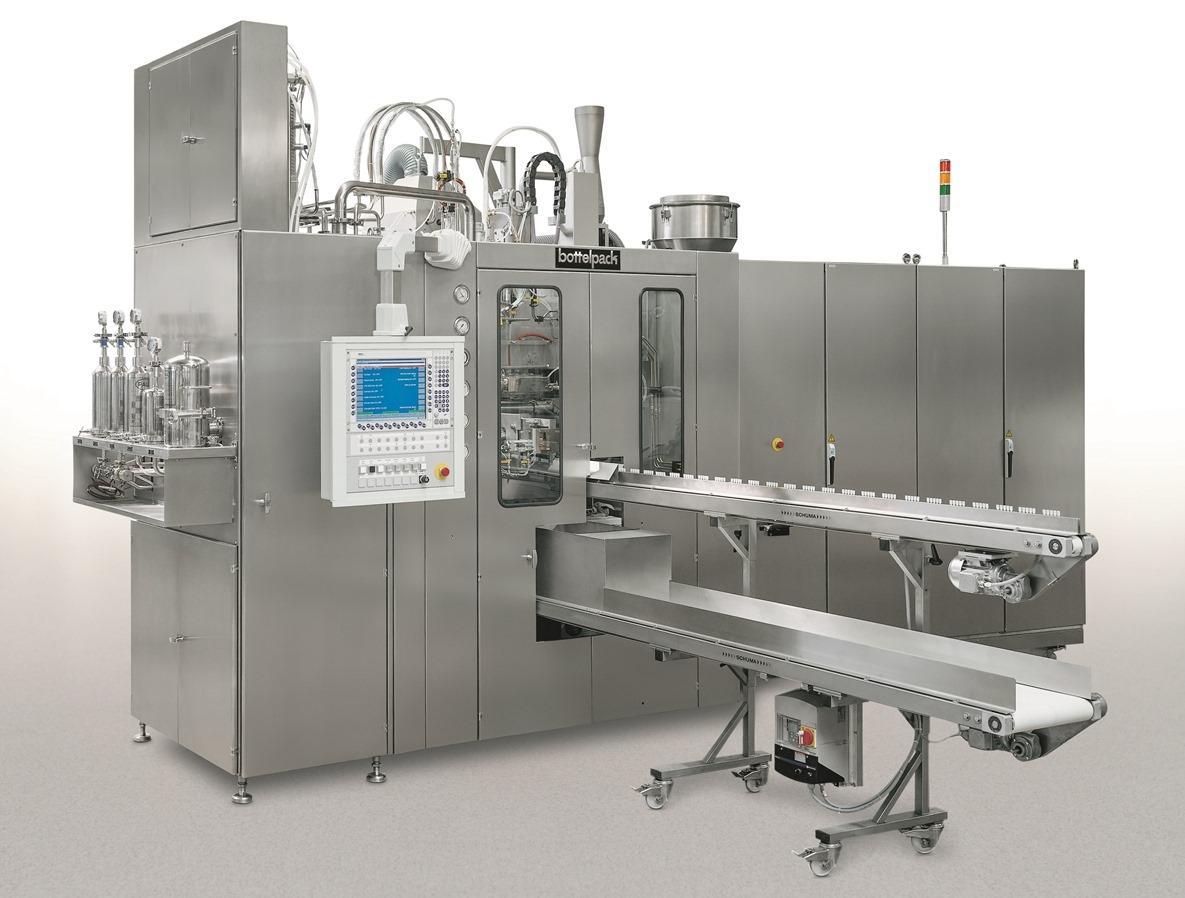 bottelpack® Verpackungscenter werden weltweit seit vielen Jahrzehnten für die aseptische Flüssigkeit...