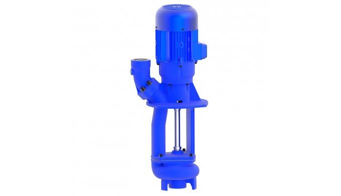 Pompes plongeantes non-engorgeables type SFT sont prévues comme pompes élévatoires vers le filtre. L...