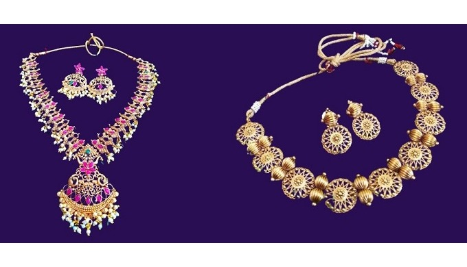 Variety of jewellery available