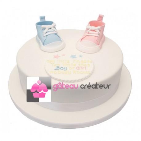 Création et livraison de gâteaux originaux pour baptêmes, naissances, baby shower