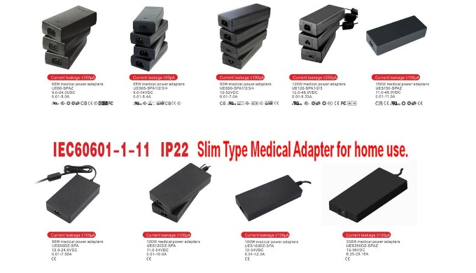 Our medical power supplies are of different types such as wall-mounted, desktop style, and interchan...