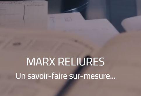 Marx Reliures, spécialiste de l'échantillonnage et de la reliure, propose un service de création de ...