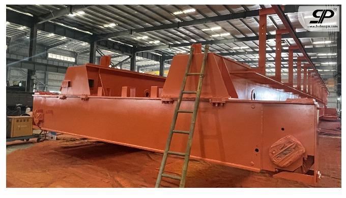 OEM Heavy hanging beam welding parts for bridge crane