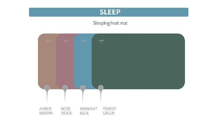 The best heating item that provides an optimal sound sleep of modern people, INKO smart heater SLEEP...