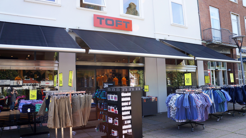 Butiksmarkisen her her har et elegant design og en række tekniske detaljer, der gør den super tiltræ...