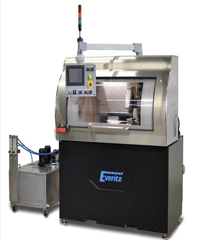 Machine de coupe de tube par procédé électronique ECG