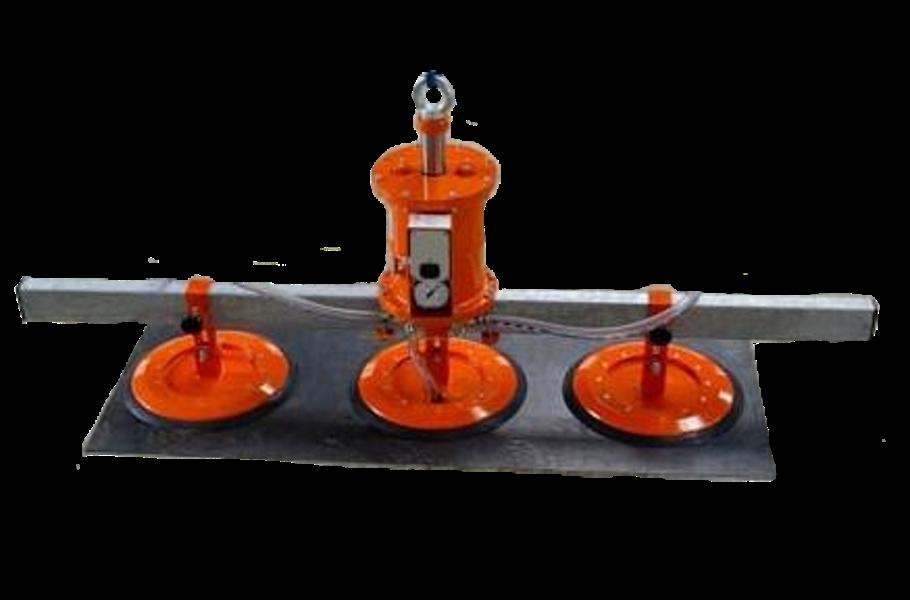 Vakuový samopřísavný manipulátor tří přísavkovýVakuový samopřísavný manipulátor tří-přísavkový je ur...