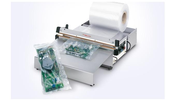 Lábbal működtetett impulzus tömítő HAWO HPL 450, 630 és 1000 AS