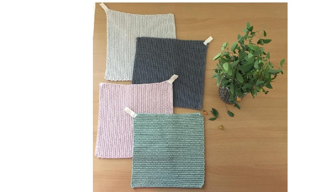 We are producing 100% Organic cotton potholders.Cotton yarn won't melt. This is the most important t...