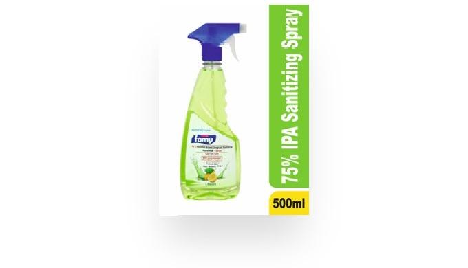 FOMY - Hand Sanitizer Rub , Blueberry, Pomegranate, Lemon, Natural, 100 ML, 500 ML, Spray, Liquid, G...