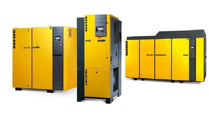 Compresoare cu surub: Compresoarele cu șurub alimentează procesele de producție din industrie, mica ...
