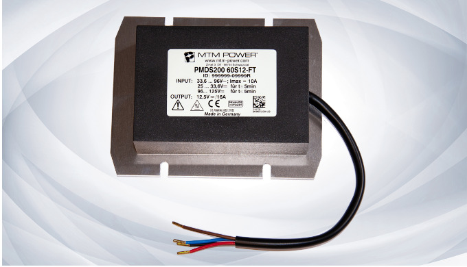 Robust, inexpensive, reliable - DC/DC Converter PMDS200-FT for Vehicles Technology