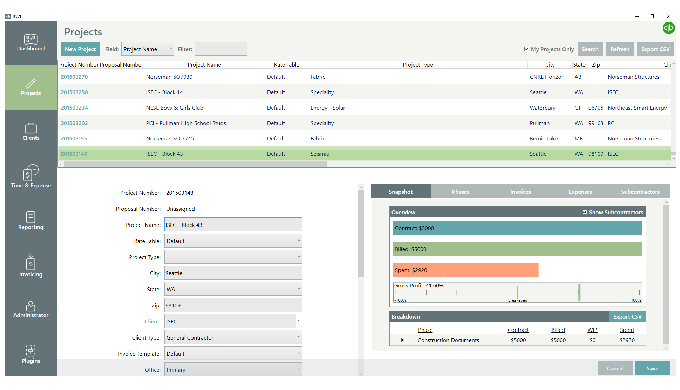 Simple AEC Industry Business Management Software