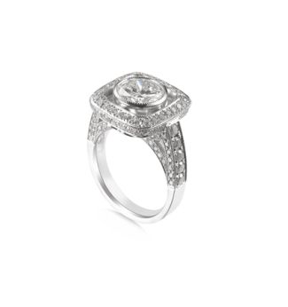 Classic Elegance Square Ring