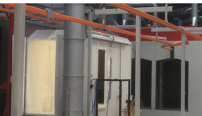 PB Metal Finishing Systems design and manufacture high quality, state-of-the-art powder coating equi...